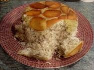 Sabzi Polou or herb rice