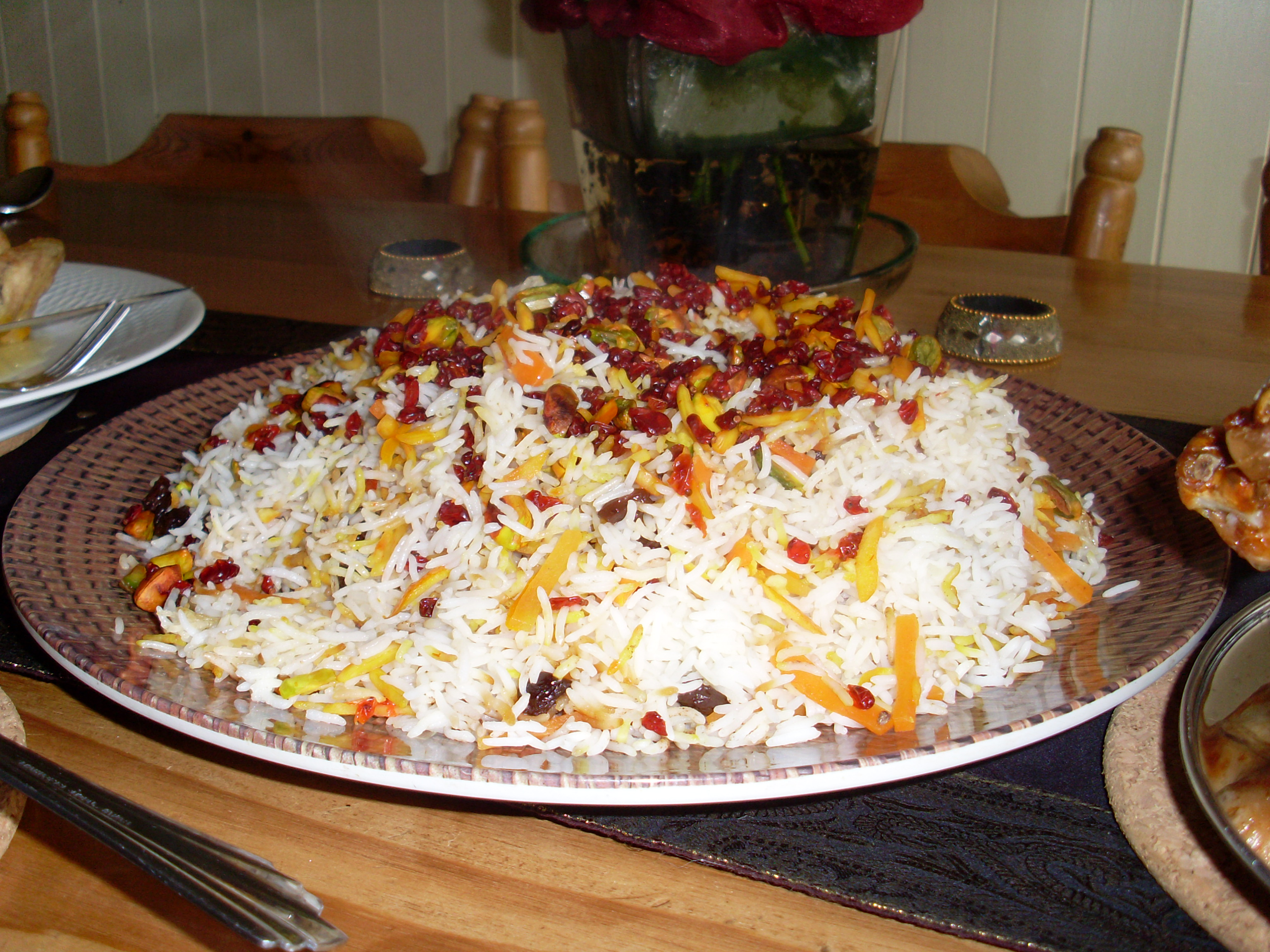 Shirin polou or jewelled rice javanehs kitchen persian cuisine shirin forumfinder Gallery