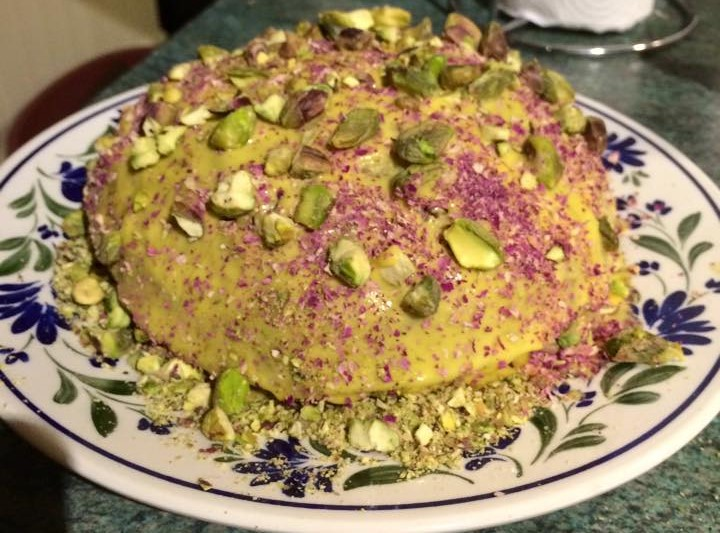 Saffron Cake Recipe With Saffron Flour